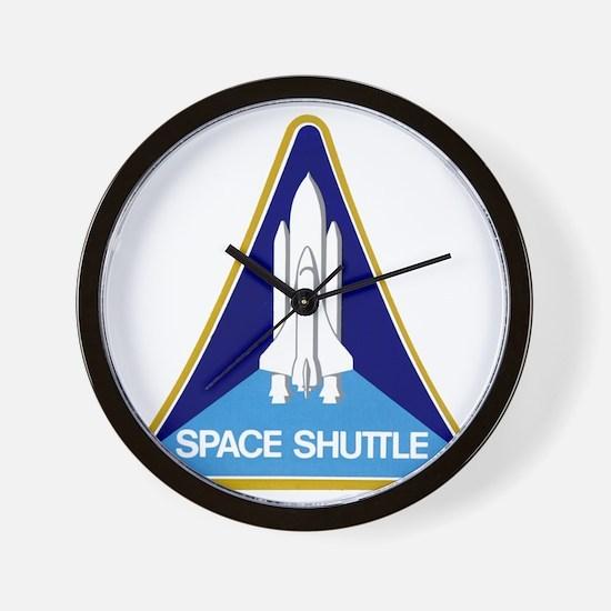 Original Space Shuttle Insignia Wall Clock
