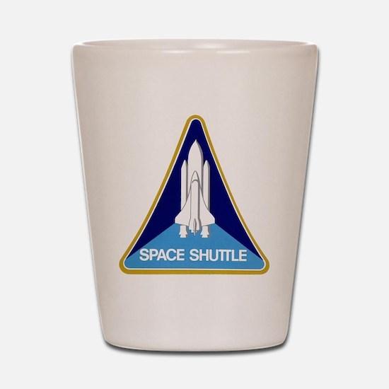 Original Space Shuttle Insignia Shot Glass