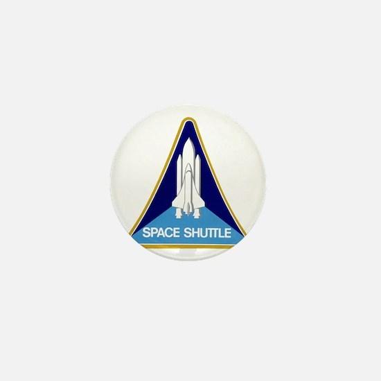 Original Space Shuttle Insignia Mini Button