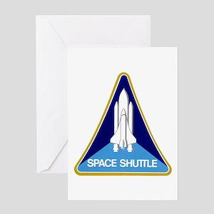 Original Space Shuttle Insignia Greeting Card