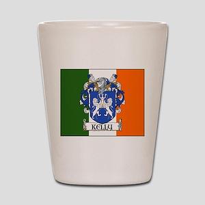Kelly Arms Irish Flag Shot Glass