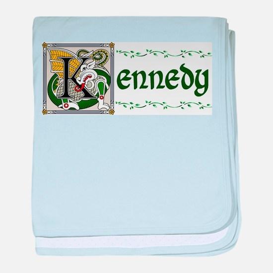 Kennedy Celtic Dragon baby blanket