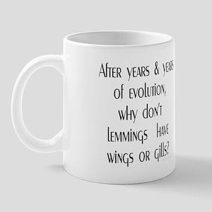 Lemmings Evolution Mug