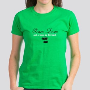 House On The Beach Women's T-Shirt