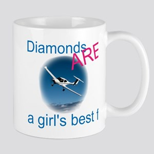 Diamonds ARE a girl's best fr Mug