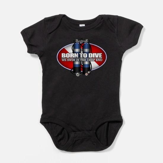 Born To Dive (ST) Body Suit