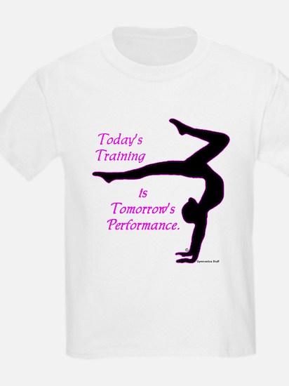 Kids Gymnastics T-Shirt - Training