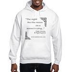 Raven Moon Hooded Sweatshirt