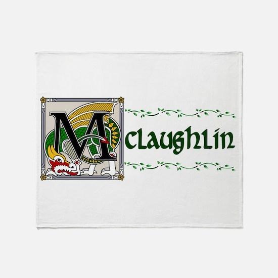 McLaughlin Celtic Dragon Throw Blanket