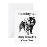 Owned by a Chow Chow Greeting Cards (Pk of 10)