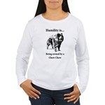 Owned by a Chow Chow Women's Long Sleeve T-Shirt