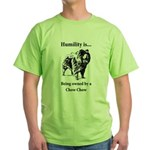 Owned by a Chow Chow Green T-Shirt