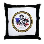 Politics Minuteman Border Pat Throw Pillow