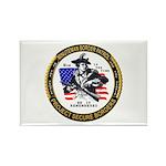 Politics Minuteman Border Pat Rectangle Magnet (10
