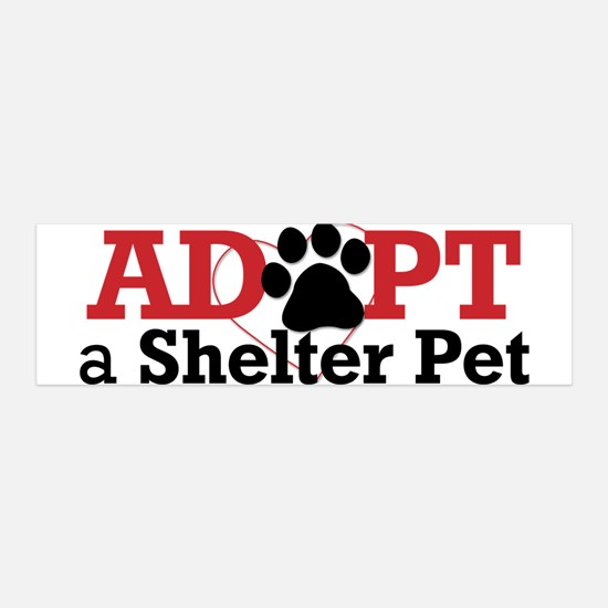 Adopt a Shelter Pet 42x14 Wall Peel