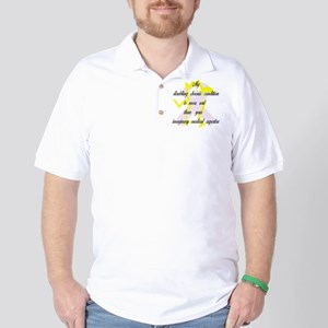 Chronic Condition Quote Golf Shirt