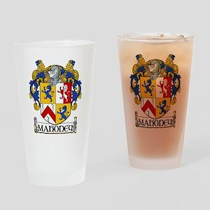 Mahoney Coat of Arms Pint Glass