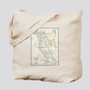Vintage Map of Egypt (1837) Tote Bag