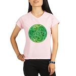 Celtic Triskele Women's Sports T-Shirt