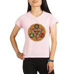 Celtic Reindeer Shield Women's Sports T-Shirt
