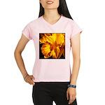 Yellow Daffodil Women's Sports T-Shirt
