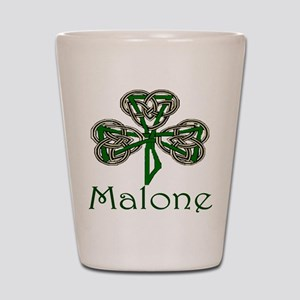 Malone Shamrock Shot Glass
