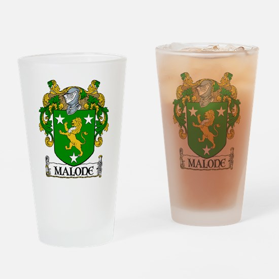Malone Coat of Arms Pint Glass