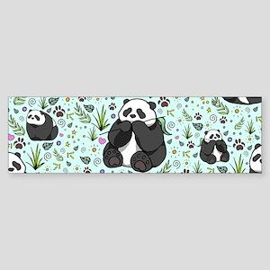 Pandas Bumper Sticker