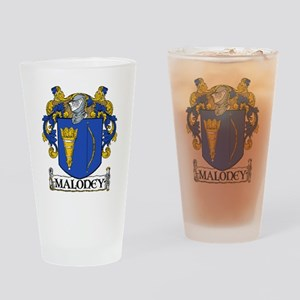 Maloney Coat of Arms Pint Glass