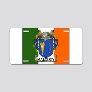Maloney Arms Irish Flag Aluminum License Plate