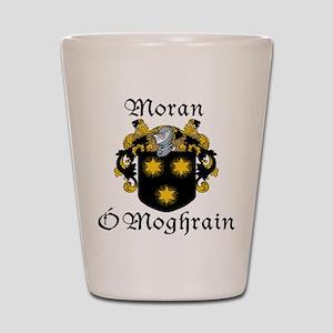 Moran In Irish & English Shot Glass