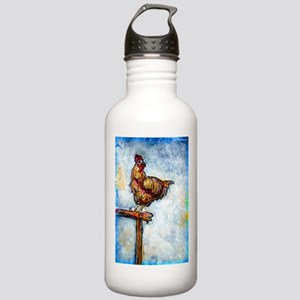 Chicken, colorful, art, Stainless Water Bottle 1.0
