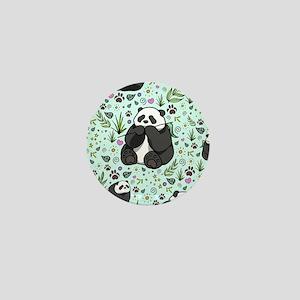 Pandas Mini Button