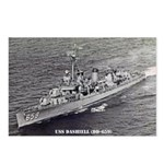USS DASHIELL Postcards (Package of 8)