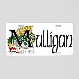 Mulligan Celtic Dragon Aluminum License Plate