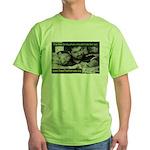 Oz Kidd-Ward poster #12 Green T-Shirt