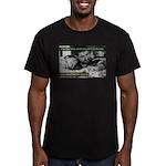 Oz Kidd-Ward poster #12 Men's Fitted T-Shirt (dark
