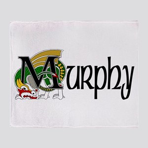 Murphy Celtic Dragon Throw Blanket