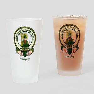 Murphy Clan Motto Pint Glass