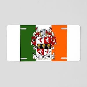 Murphy Arms Tricolour Aluminum License Plate