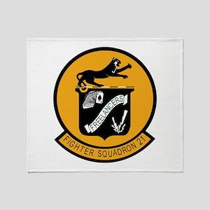 F-14 Tomcat VF-21 Freelancers Throw Blanket