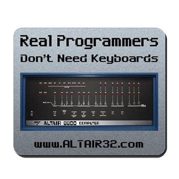 Real Programmers Don't Need K Mousepad