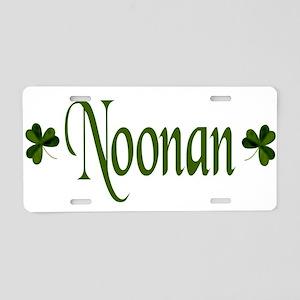 Noonan Shamrock Aluminum License Plate