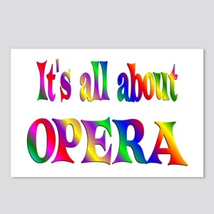 About Opera Postcards (Package of 8)