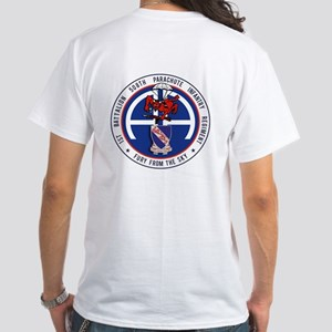 1st / 508th PIR White T-Shirt