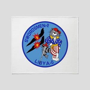 VF-32 Swordsmen Throw Blanket