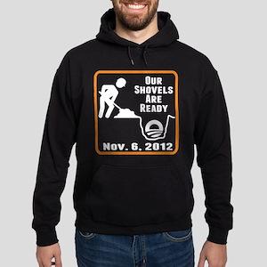 Shovels Ready! Hoodie (dark)