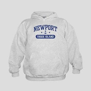 Newport Rhode Island Kids Hoodie