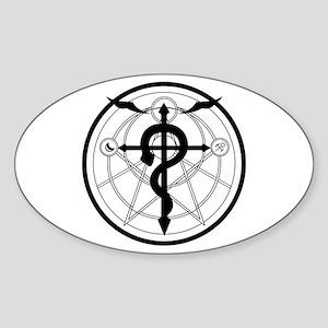 Transmutation Circle Sticker (Oval)