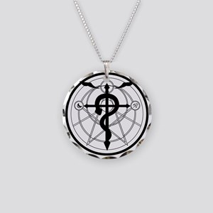 Transmutation Circle Necklace Circle Charm